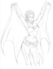 Batgirl_pencil