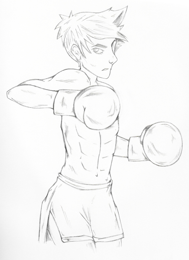 Knock Out Punch_pencil
